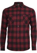Urban Classics Checked Flanell Shirt Camicia Casual Uomo (v2m)