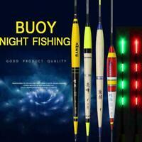 Nacht Smart Fishing Float LED Licht elektrische Bobber leuchtende TackleNeu E8O9