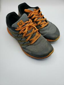 Merrell Mens Bare Access 4 Trail Running Shoes Gray J01655 Lace Up 9.5 M