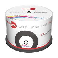 CD-R 52x Printable Estilo Vinilo Primeon Tarrina 50 uds