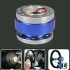 Universal Fit Car Steering Wheel Quick Release Hub Adapter Snap Off Boss Kit
