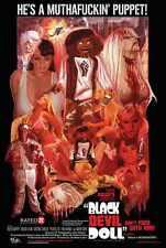 Black Devil Doll Poster 02 Metal Sign A4 12x8 Aluminium