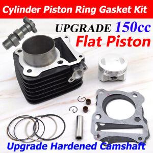 150cc Big Bore Cylinder piston Camshaft For Suzuki GN125 EN125 GS125 GZ125 DR125