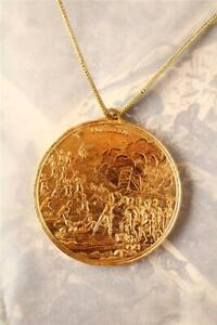 BRITISH ARMY HEIC HONOURABLE EAST INDIA COMPANY JAVA OFFICERS GOLD MEDAL