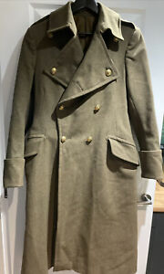 Rare Alkit SEAFORTH HIGHLANDERS WWII British Army Military Greatcoat