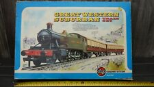 More details for complete airfix tank locomotive great western railway system train set oo gauge