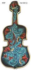 Hardanger Fiddle Rosemaling Pattern Package, FREE SHIPPING, Stock #30P