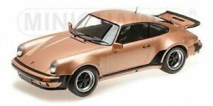 PORSCHE 911 TURBO - 1977 - PINK METALLIC - Minichamps 1:12 - 125066124
