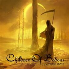 I Worship Chaos [HARDCOVER BOOK ] CD + DVD CHILDREN OF BODOM ( FREE SHIPPING)