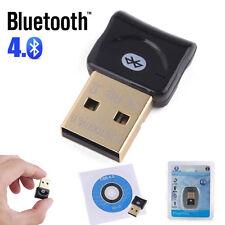 USB Bluetooth v4.0 Adapter Dongle CSR EDR for PC Laptop Windows 10 8 7 XP