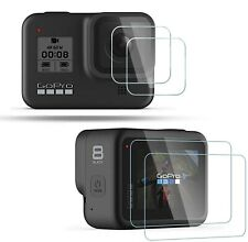 For GoPro Hero 8 Black Lens + Lcd Screen Glass Protector