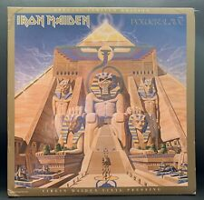 Iron Maiden Power Slave Limited Addition Vinyl Original pressing 1984 RARE!!!