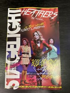 HEATHERS 2014 Off-Broadway STAGELIGHT Magazine (Like Playbill)! NEW WORLD STAGES