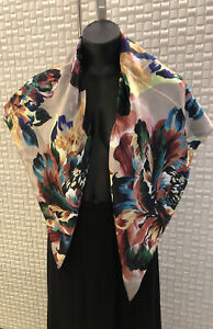 Echo New York Designer Silk Scarf, BNWT, RRP $ 149.95, Amazing Quality & Style