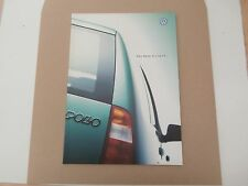VW Polo estate 1998. brochure In uncirculated   collectors condition. MINT