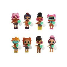 8Pcs LOL Surprise Doll Lil Sisters cute girl baby figure toys figurine 8CM