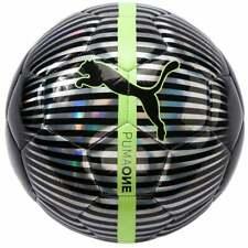 Puma Puma One Chrome  Ball Mens Soccer Cleats     - Black,Silver - Size 5