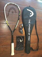 Squash Racquet And Goggles: Head Graphene 115 And Head Pro Elite Eyewear