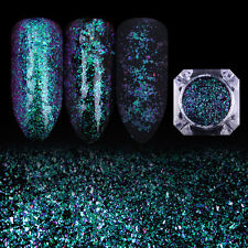 BORN PRETTY Nail Chameleon Glitter Sequins Nail Art Green Starry Paillette 2345