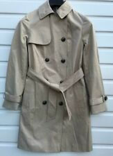 Women`s New Atmosphere Mac Trench Coat UK Size 12 (EU 40) Beige
