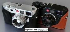 LUIGI's BASIC CASE for LEICA M9,M9P,M-E,M8,MONOCHROM 1,HANGING BACK,UPS INCLUDED