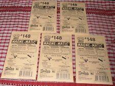 Kadee HO #148 Couplers 24 Whisker Metal /spring Centerset Shank 6 Packets