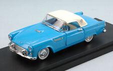 Ford Thunderbird 1956 Light Blue w/ White Soft Top 1:43 Model RIO4484 RIO