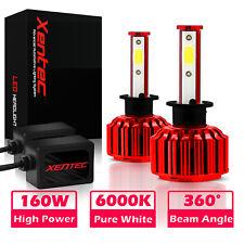 9005 + H11 6000K 2000W 300000LM Combo CREE LED Headlight Kit High Low Light Bulb