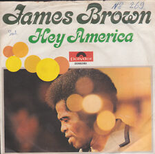 James Brown Hey America / Hey America German Import 45 With Picture Sleeve