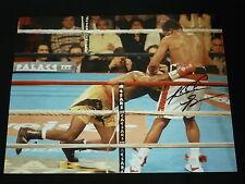 Riddick Bowe Signed 12x16 Boxing Photograph. :F