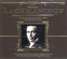 DOPPEL-CD NEU/OVP - Sergei Rachmaninov - Concertos Pour Piano No. 1, 3 & 4