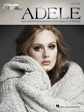 Adele Strum & Sing Sheet Music Strum and Sing Book New 000159855