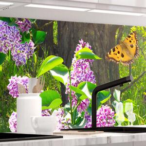 Küchenrückwand - SOMMER LICHTUNG - selbstklebend, PRO Version, PVC 0.2mm