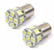 2 PURE White 24V BA15S 13 LED Tail Sidelight Side Indicator Light Bulb P21W 1156