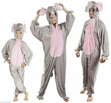 Elefant Elefanten Kostüm Overall Plüsch Tier Elefantenkostüm Elefantenoverall