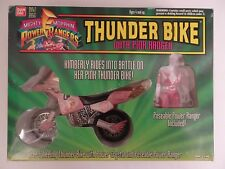 Power Rangers - Thunder Bike with Pink Ranger Moto Figurine Rose 1994 Bandai