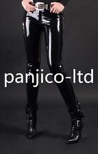 Latex Rubber Gummi Cool Black Fashion Pants Size XS-XXL