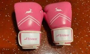 Trideer Pro Grade Boxing Gloves, Kickboxing Bagwork Gel Sparring Training   X
