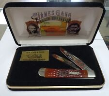 W.R. Case & Sons Collectors Series James Gang Train Robberies Knife Jesse James