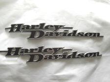 Harley Davidson Tank Embleme Tankschilder Tankembleme Paar 62435-11 & 62437-11