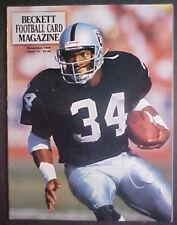 NOVEMBER 1990 BECKETT FOOTBALL CARD MAGAZINE #8- BO JACKSON COVER