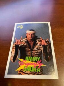 "1990 Classic WWF Wrestling Jimmy ""Superfly"" Snuka Card #14"