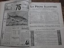 LA PECHE ILLUSTREE. Janvier.mars.avril.mai.juin.septembre.octobre.nov.déc.1927
