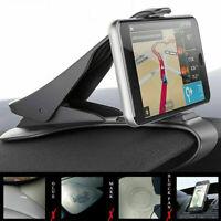 Adjustable Universal Antiskid Car Phone Holder Clip Design Mount HUD Q2D5