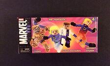 Marvel Universe FANTASTIC FOUR MINIMATES 4 Pack NEW Diamond Select Toys 2005