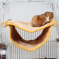 Pet Bird Hamster Ferret Rat Squirrel Hammock Hanging Cage Nest Bed House Toys