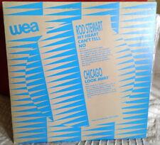 "Radio Promo 12"" Rod Stewart / Chicago / Tracy Chapman / Anita Baker RARE!"