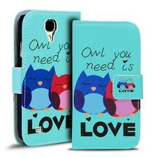 Phone Case For Samsung Galaxy S4 Mini Case PU Leather Motif Protective Case
