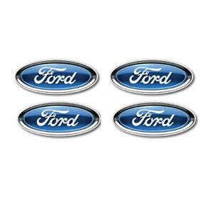 4 X  Ford Badge Sticker Decal 45mm , car, window, laptop, wall , mancave, 4X4
