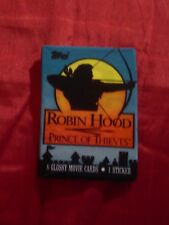 ROBIN HOOD PRINCE OF THIEVES 1991 ORIGINAL TOPPS WAX PACK MOVIE CARDS BRAND NEW